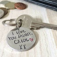 I Love You Daddy Keyring