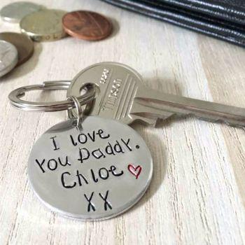 I Love You Keyring