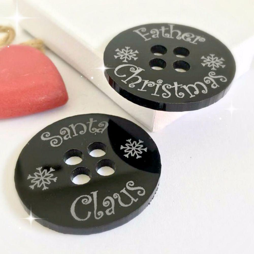 Santa's Lost Button