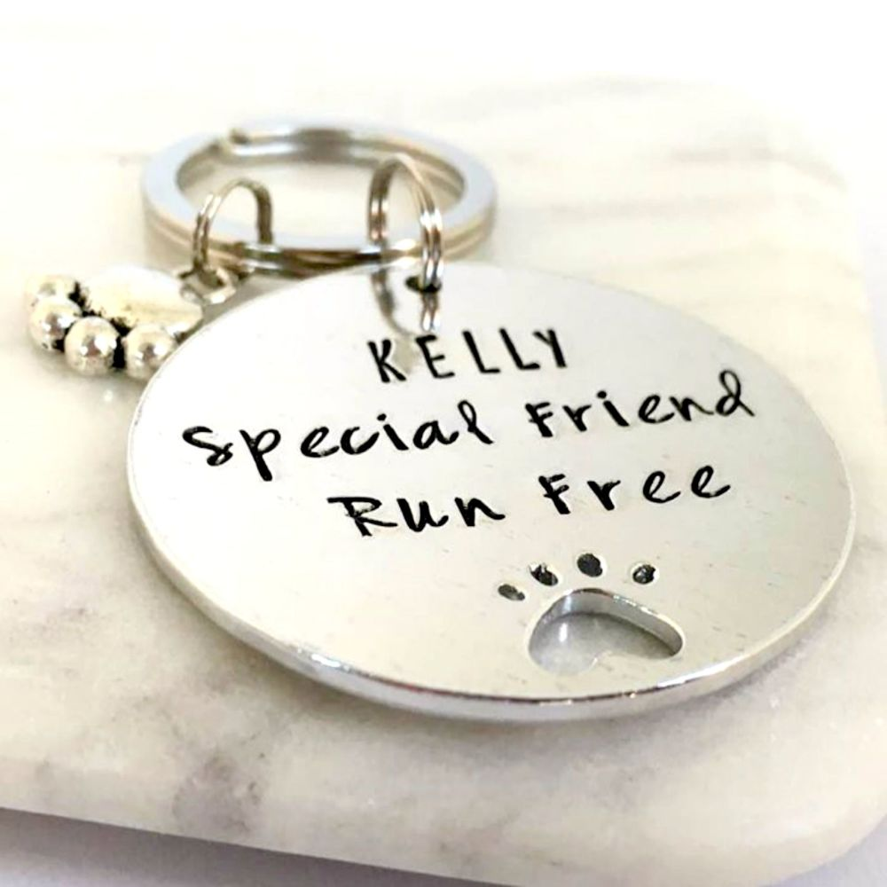 Paws for Thought Keyring
