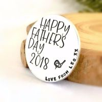 Personalised Happy Fathers Day Golf Ball Marker