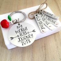 My Weight Loss Journey Keyring