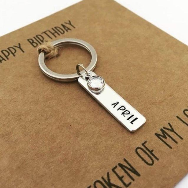 <!-- 004 -->April Birthday Card