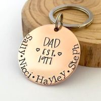Daddy Established Keyring