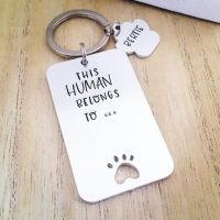 This Human Belongs To ... Keyring