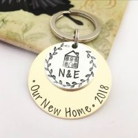 Personalised Our New Home Keyring