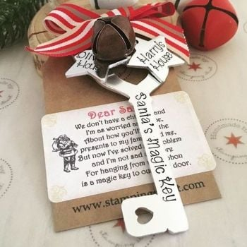 Personalised Santa's Magic Key