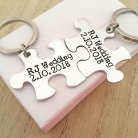 Interlocking Puzzle Piece Keyring