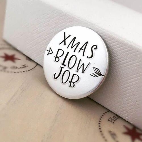 Christmas Themed Rude Love Tokens