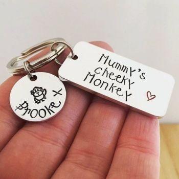 Cheeky Monkey Keyring