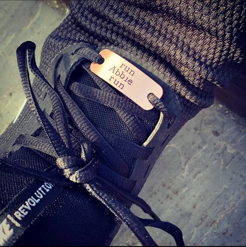 Copper Fast As F#ck Trainer Tags