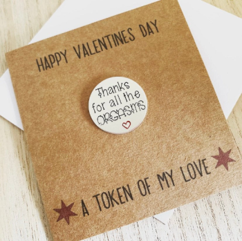 Thanks For All The Orgasms Valentines Day Card
