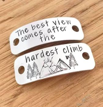 Hiking Boot Tags