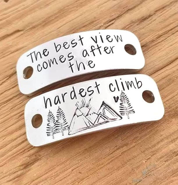 Hiking Trainer Tags