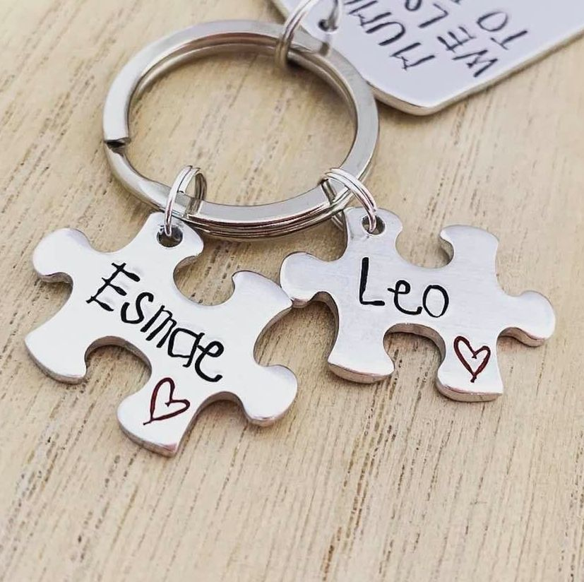Small Puzzle Charms