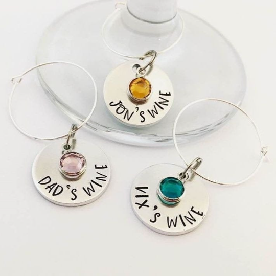 <!-- 005 -->Wine Glass Charms & Stoppers