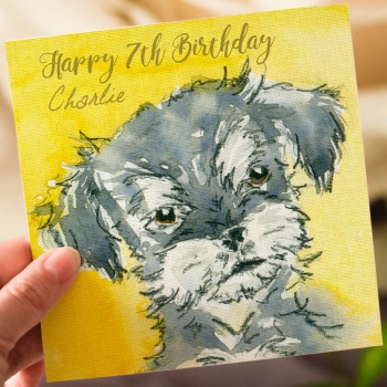 Personalised Birthday Card for Kids