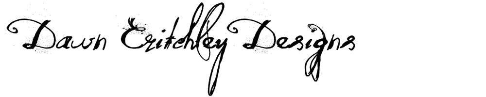 Dawn Critchley Designs, site logo.