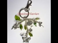 bag charm fairy green