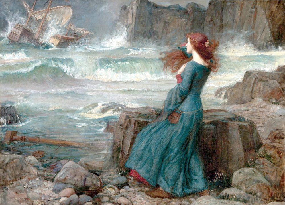 John William Waterhouse: Miranda, The Tempest, 1916
