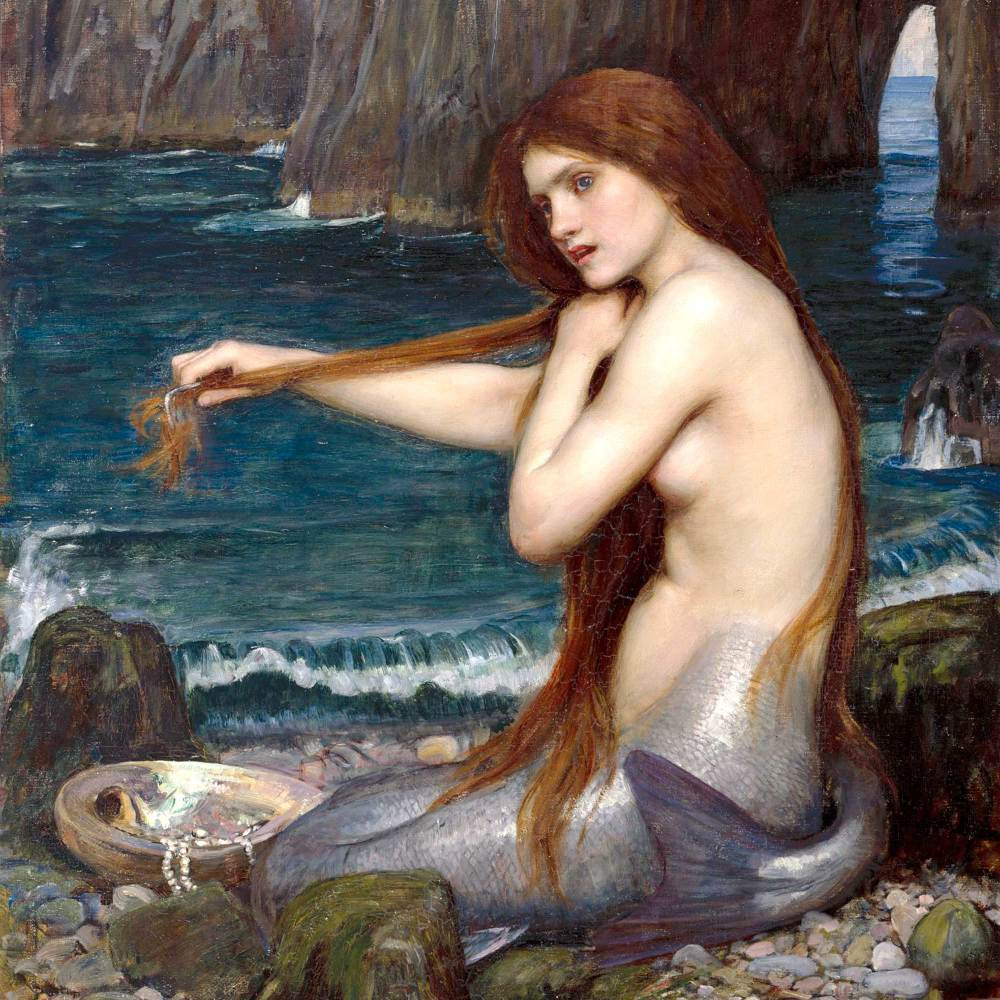 John William Waterhouse: Mermaid, 1900