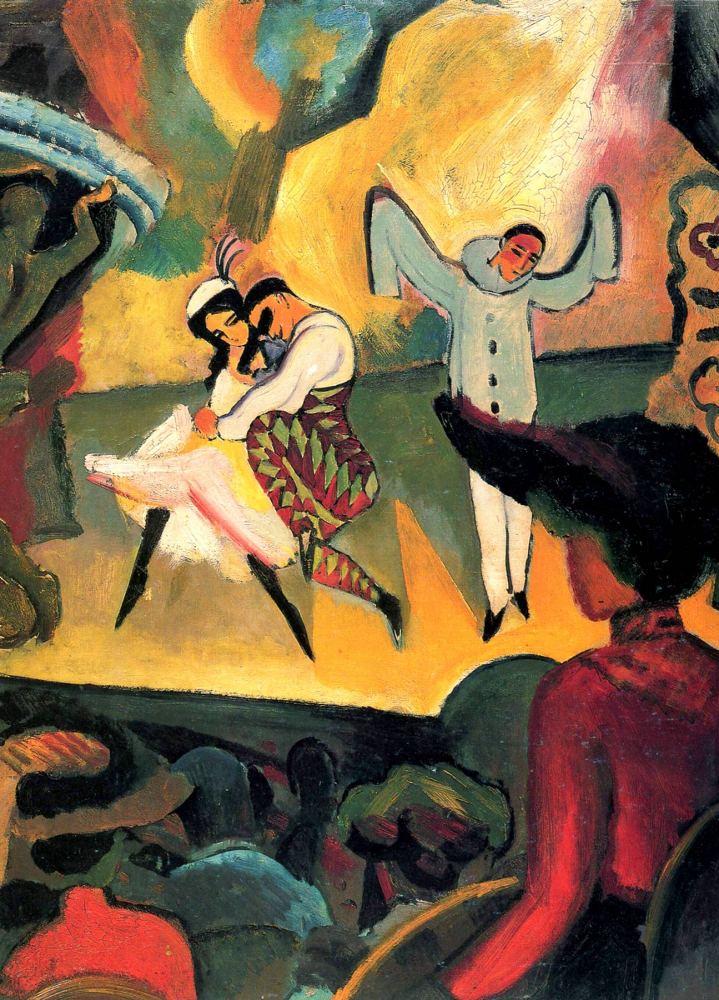 August Macke: Ballet Russes, 1912