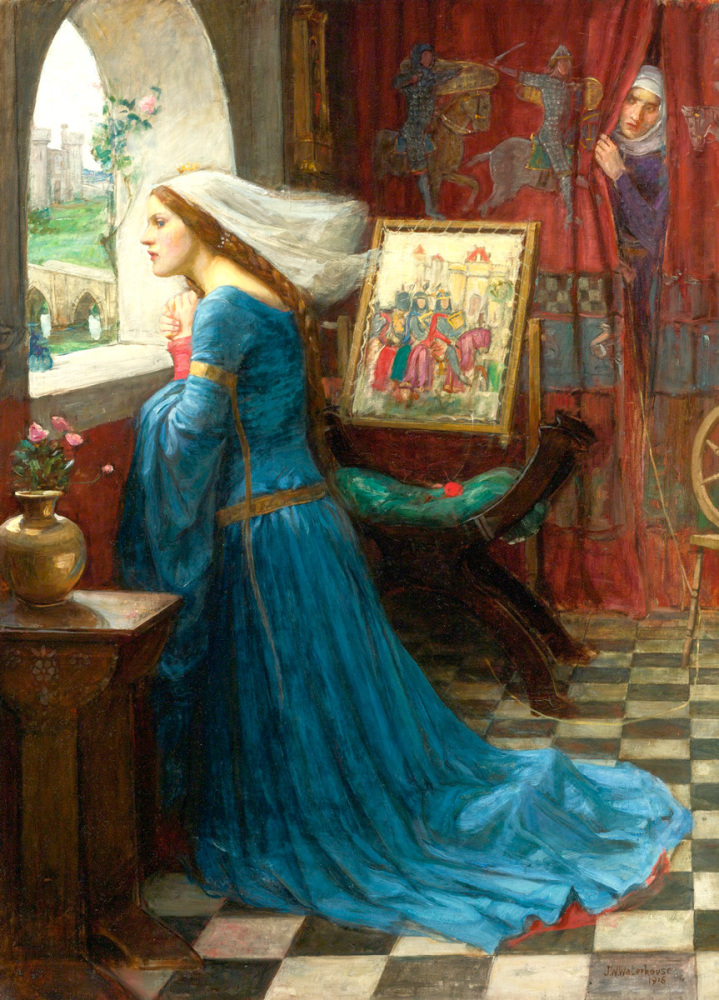 John William Waterhouse: Fair Rosamund, 1917
