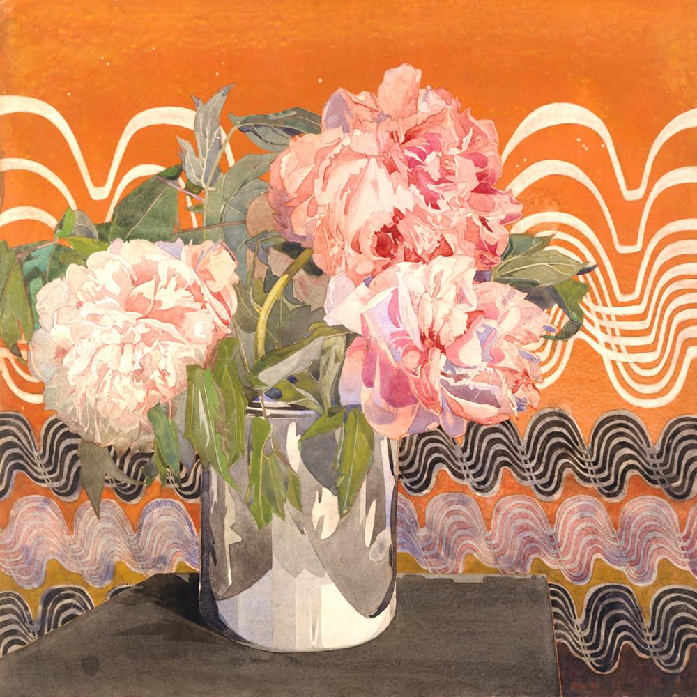 Charles Rennie Mackintosh: Peonies, 1920