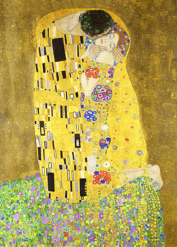 Gustav Klimt: The Kiss, 1907