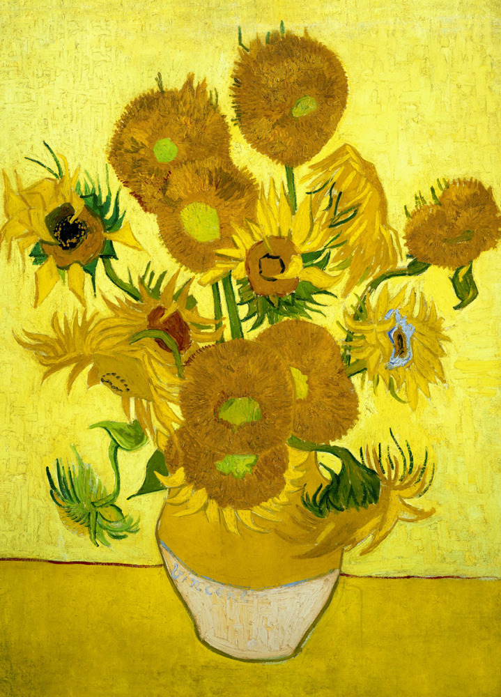 Vincent van Gogh: Sunflowers, 1889