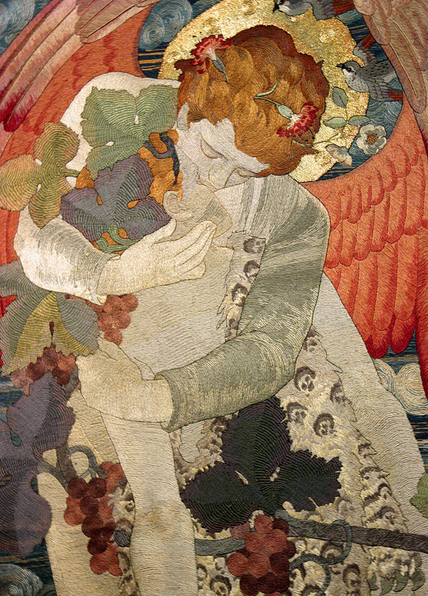 The Progress of a Soul: The Victory, 1902 (detail) by Phoebe Anna Traquair