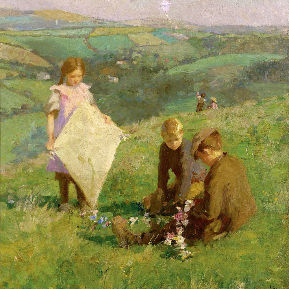 Pioneer of Aerial Navigation, 1913 by Harold Harvey (1874-1941)