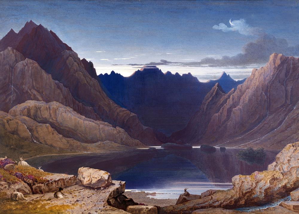 Loch Coruisk, Isle of Skye - George Fennel Robson