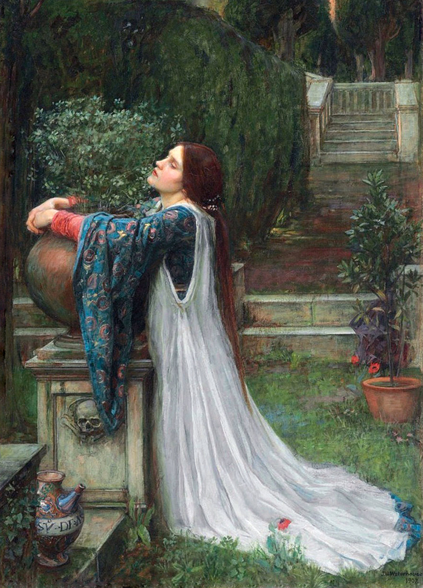 John William Waterhouse -  Isabella and the Pot of Basil, 1907