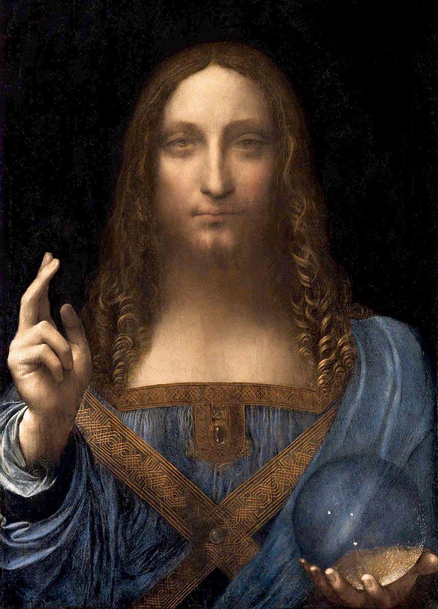 Leonardo da Vinci: Salvator Mundi, circa.1500