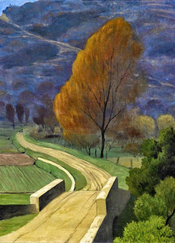 Félix Valloton: Pont sur le Béal, 1922