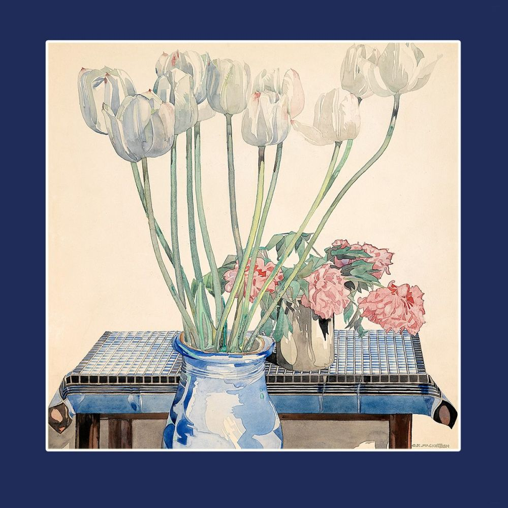 Charles Rennie Mackintosh: White Tulips