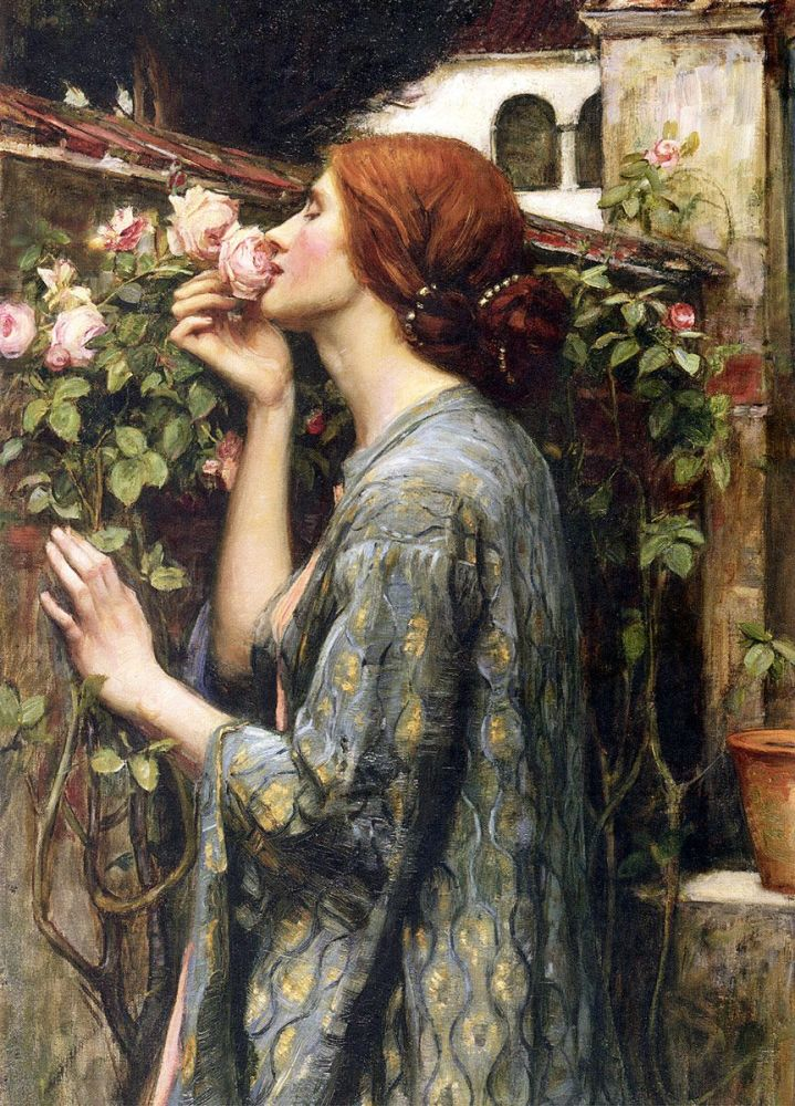 John William Waterhouse: The Soul of the Rose