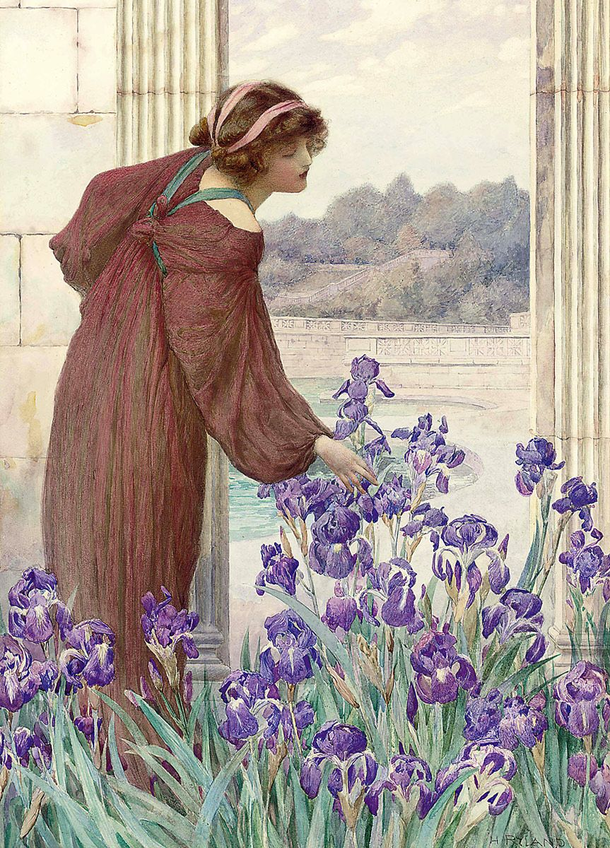 Henry Ryland: An Allegory of Spring