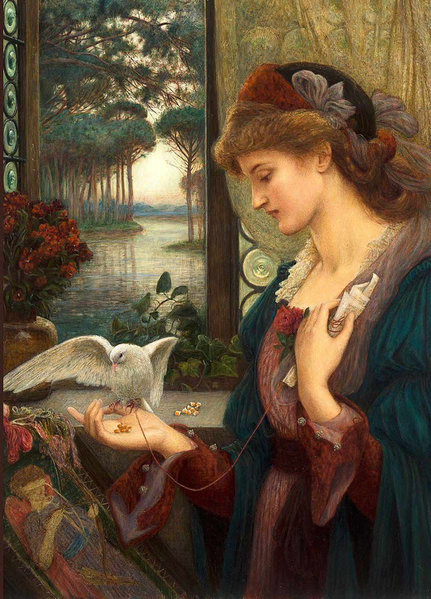 Marie Stillman: Love's Messenger, 1885