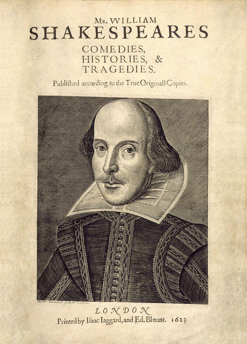 William Shakespeare First Folio, 1623