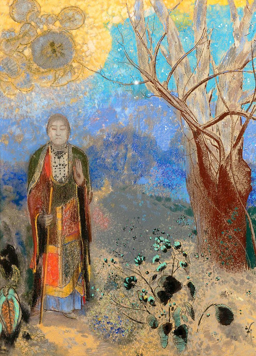 Buddha, 1906: Odilon Redon