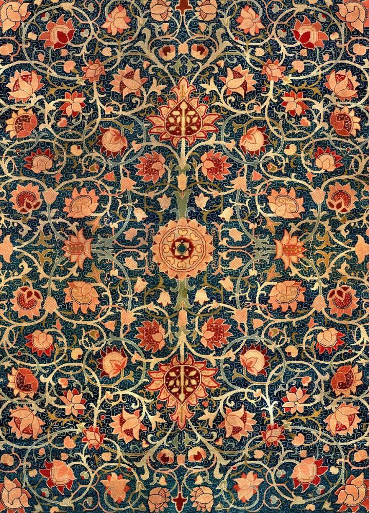 William Morris: Holland Park Carpet (detail)