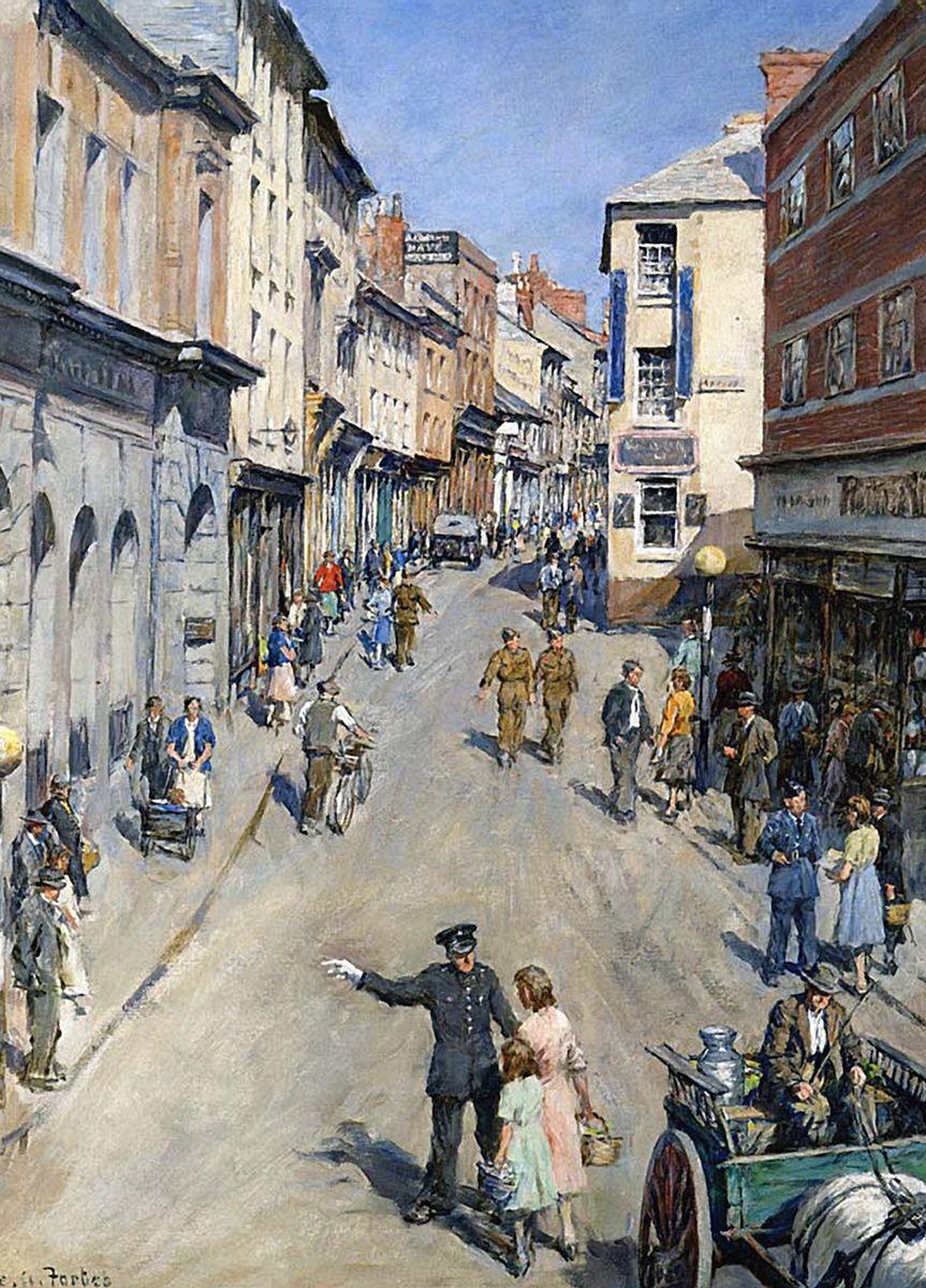 Stanhope Forbes: Causewayhead, Penzance, 1943