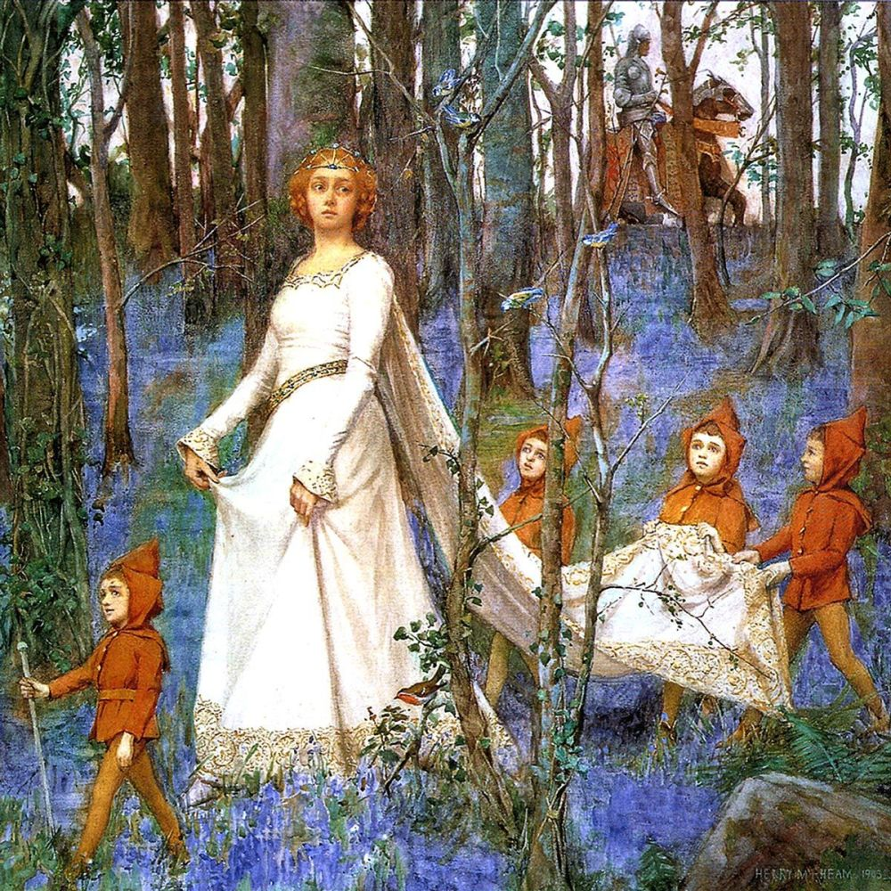Henry Meynell Rheam: The Fairy Wood