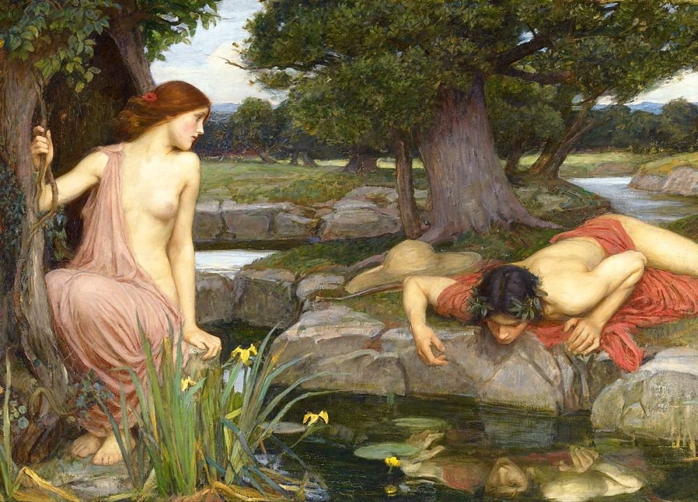 John William Waterhouse: Echo and Narcissus, 1903