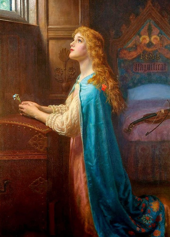 Arthur Hughes: Forget Me Not