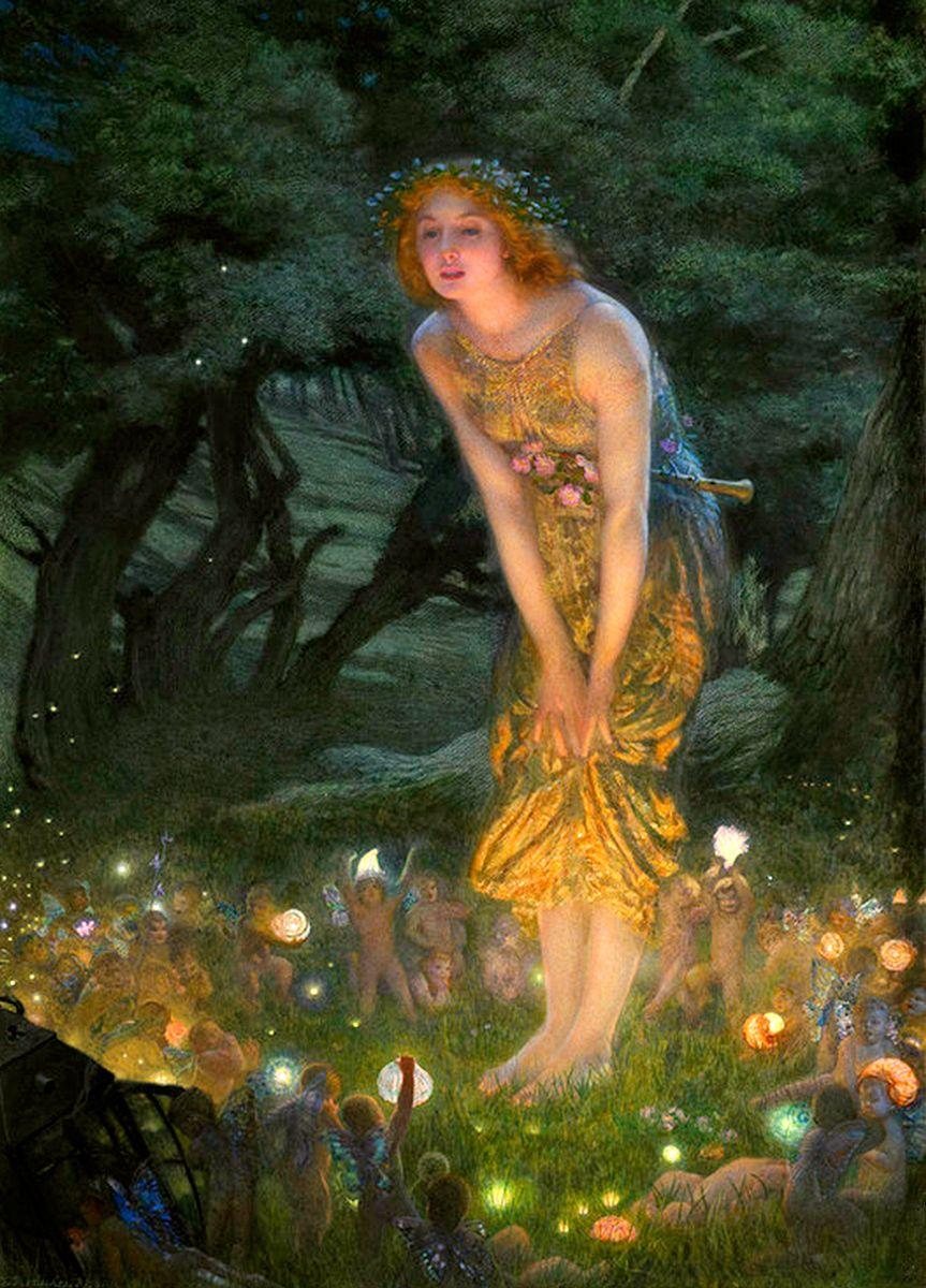 Edward Robert Hughes: Midsummer Eve, 1908