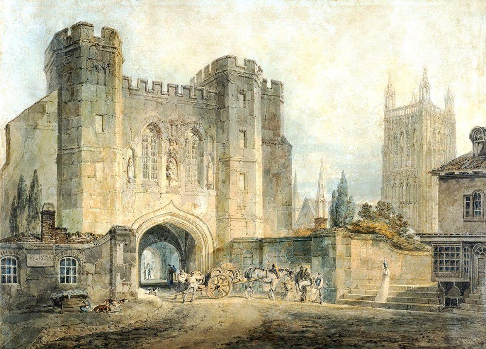 Joseph Mallord William Turner: King Edgar's Gate, Worcester, 1794