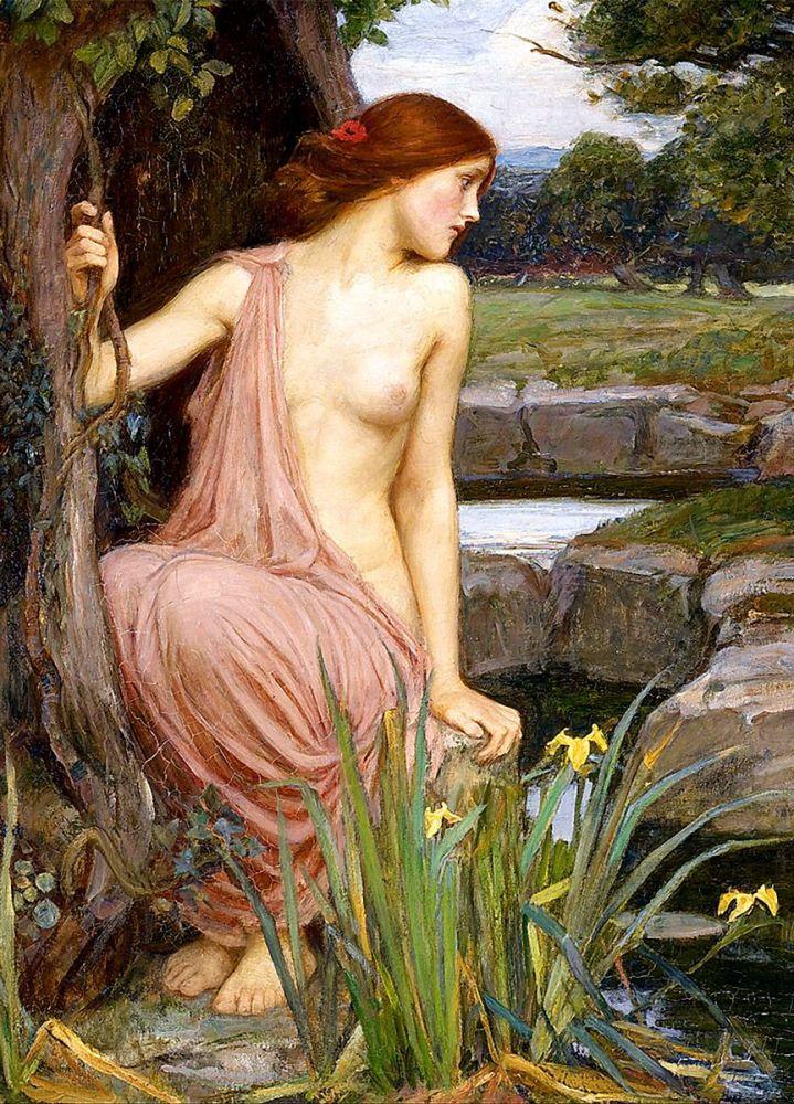 John William Waterhouse: Echo, 1903